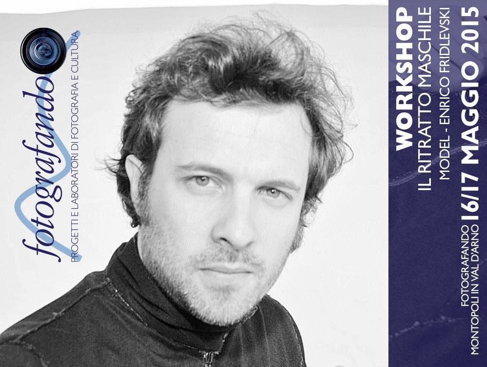 WORKSHOP FOTOGRAFICO DI RITRATTO MASCHILE – Fotografando, Montopoli, 16/17 Maggio 2015