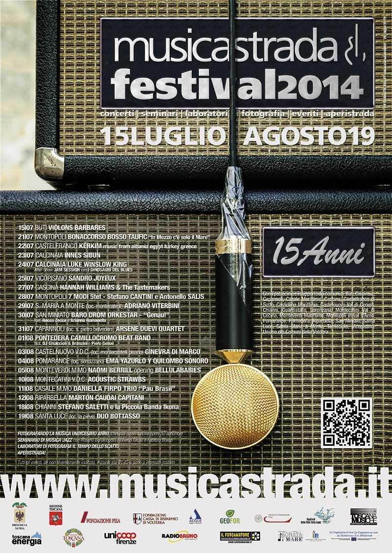 Musicastrda Festival Edizione edizione 2014