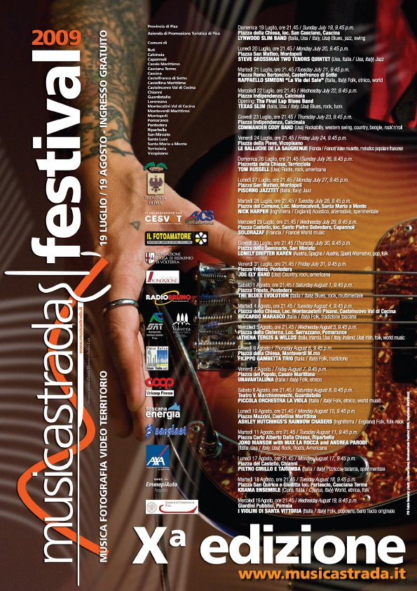 Musicastrda Festival Edizione edizione 2009