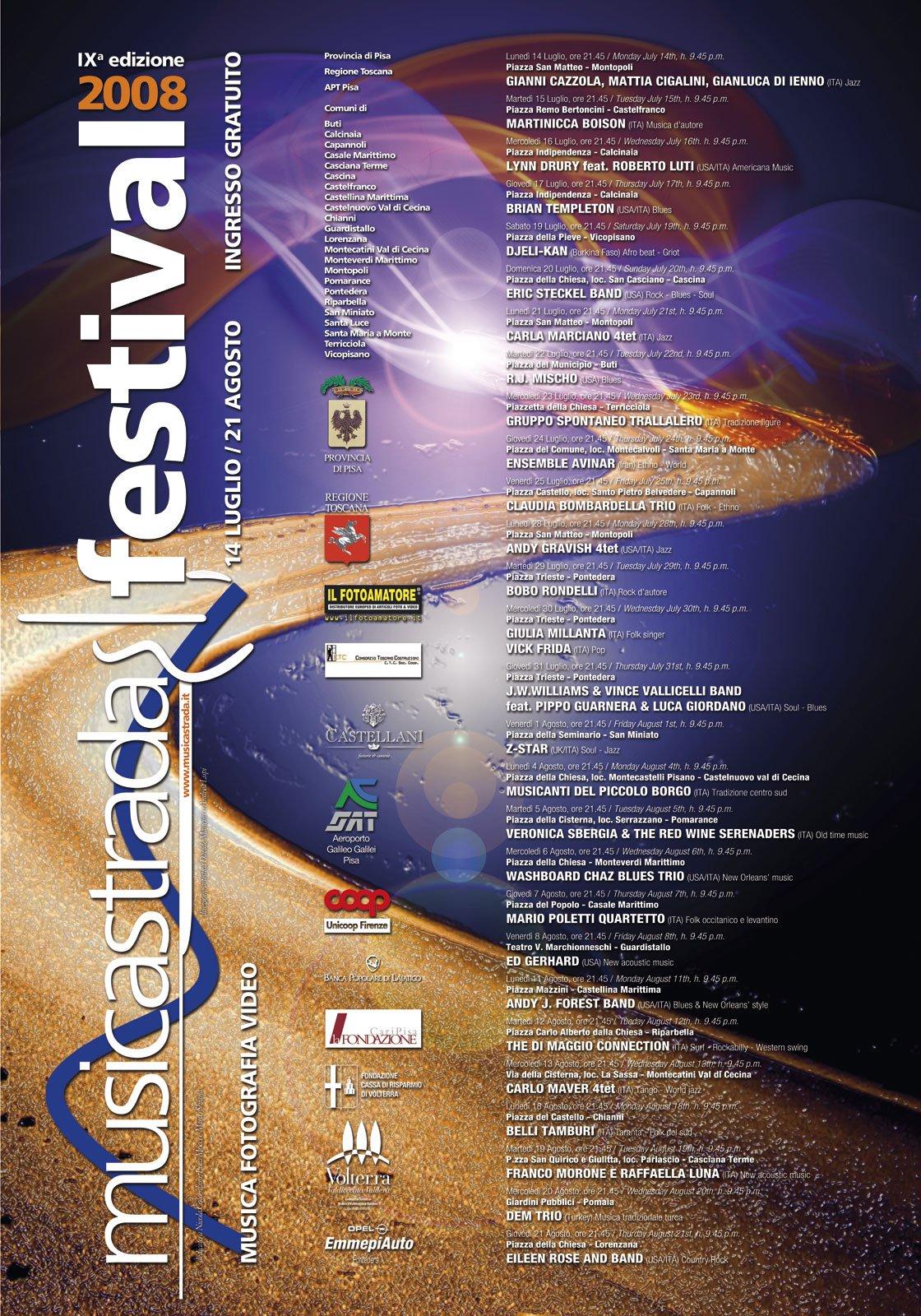Musicastrda Festival Edizione edizione 2008