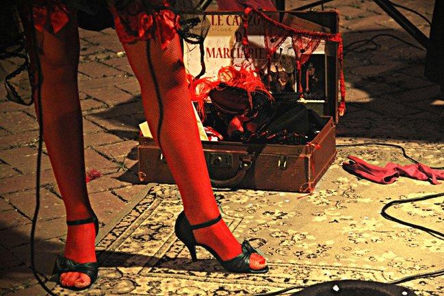 """3 Michela Goretti """"canzoni da marciapiede l'anima domanda la musica risponde"""""""