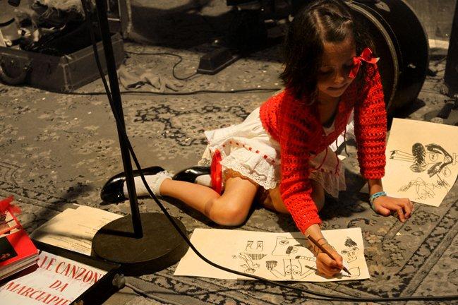 """5 Michela Goretti """"canzoni da marciapiede l'anima domanda la musica risponde"""""""
