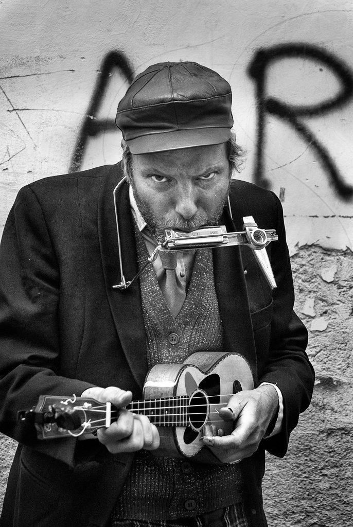 "Primo Classificato: Lorenzo Luigi Fausto | ""Banda con Ukulele, shaing e armonica"""