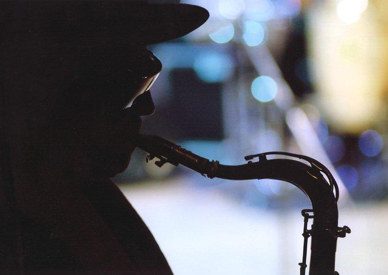 """Gato Barbieri Bergamo Jazz '05""    Terzo Premio Categoria Adulti   Autore: Elena Viola"