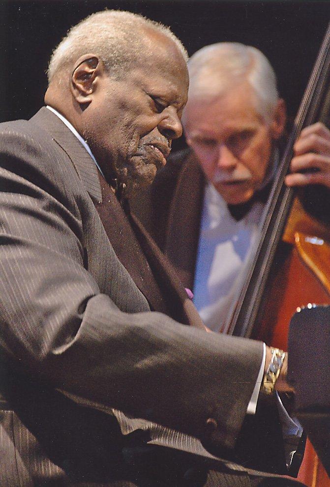 """""""Un pianista che ha fatto la storia del Jazz in dirittura d'arrivo""""   Foto Ammessa   Autore: Laura Manini"""