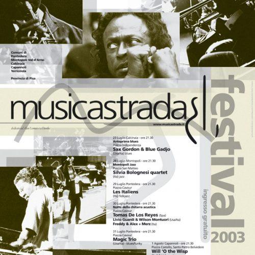 Musicastrda Festival Edizione edition 2003